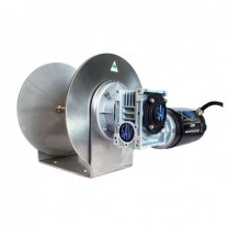This is an image of a 1500W Savwinch electric boat anchor winch