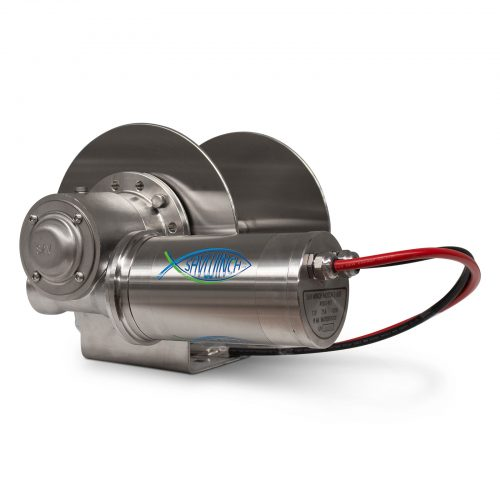 1000 SSS Stainless Steel Drum Anchor Winch