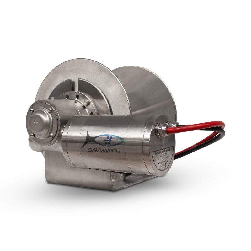 2000 SS Stainless Steel Drum Anchor Winch
