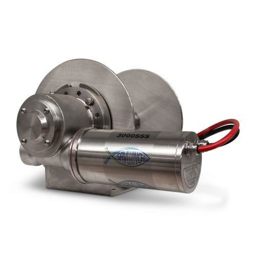 3000 SSS Stainless Steel Drum Anchor Winch