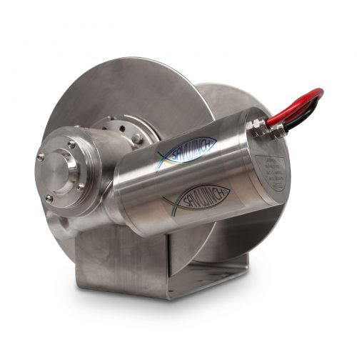 4000 SSS Stainless Steel Drum Anchor Winch