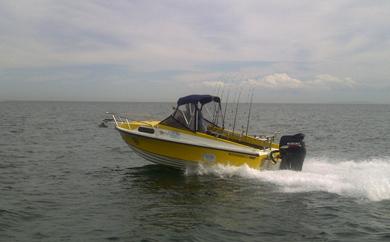 boat anchor winch, snapper challenge, Altona Boating club, anchor winch, boat winch