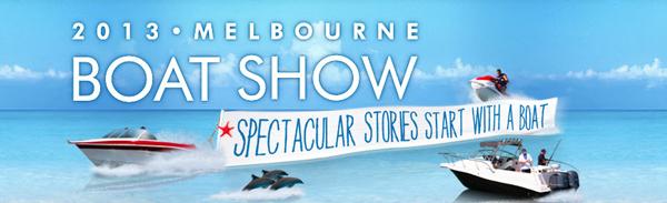 2013 Melbourne Boat Show Banner