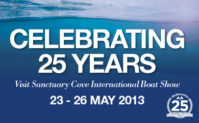 2013 Sanctuary Cove International Boat Show Banner