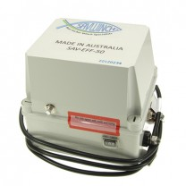 This is a photo of a Savwinch electronic fast fall box with variable speed option