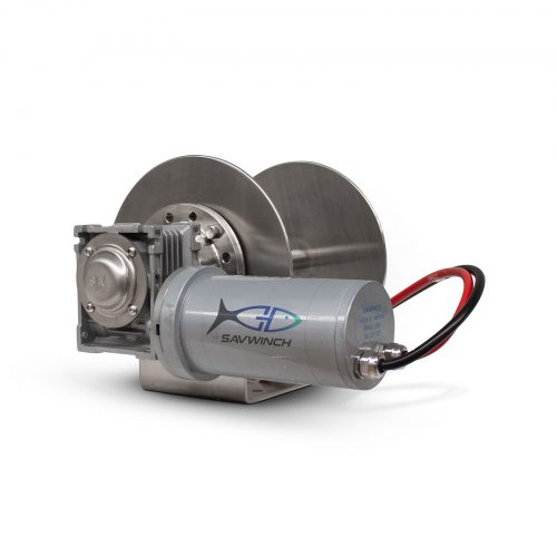 1000 CS Stainless Steel Drum Anchor Winch