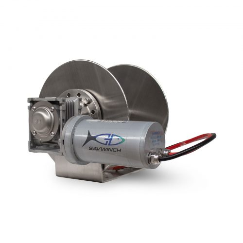 1500 CS Stainless Steel Drum Anchor Winch