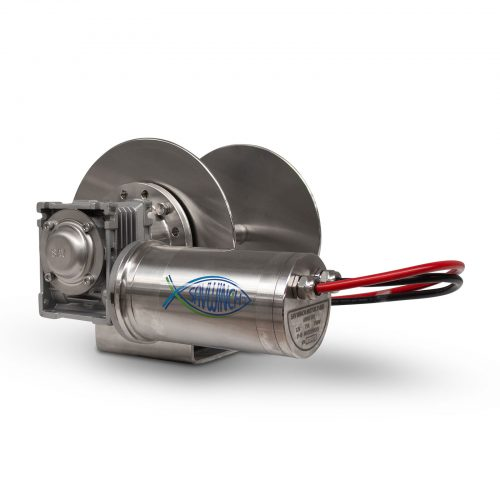 1000 SS Stainless Steel Drum Anchor Winch
