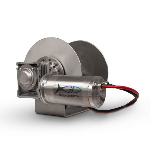 1500 SS Stainless Steel Drum Anchor Winch