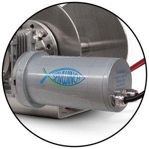 Power Coated Steel Motor Savwinch