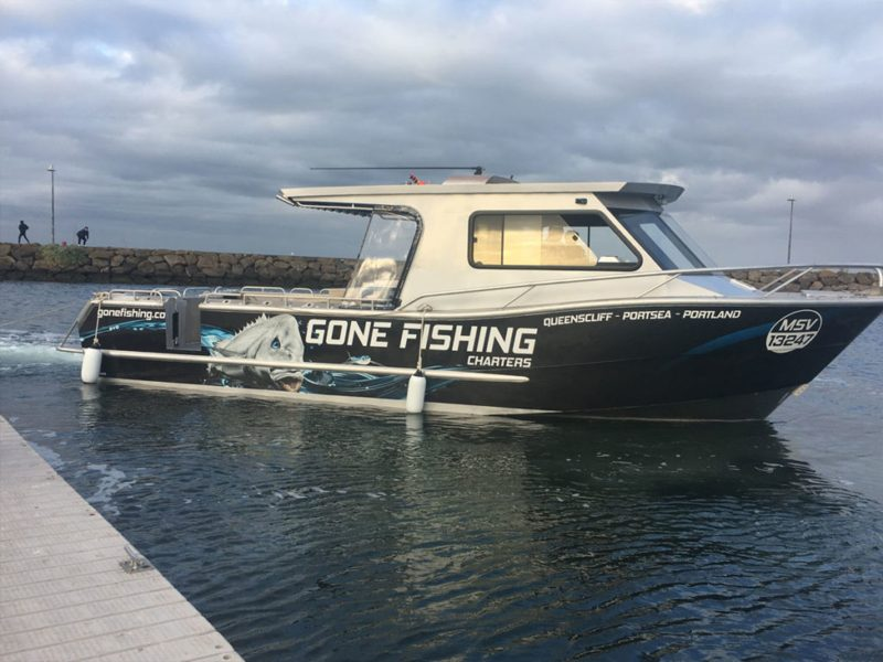 Gone Fishing Charter Boat